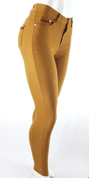 Calça Feminina Tipo Social Elastano Lycra Bengaline Cores