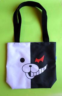 Mini Tote Bag Cartera De Anime Danganronpa Monokuma