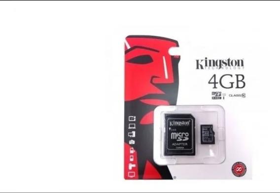 Cartão De Memória Kingston 4gb Micro Sd