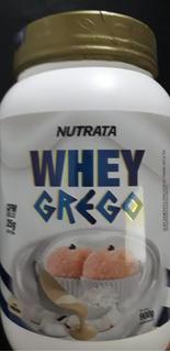 Whey Grego 900 Gr Nutrata