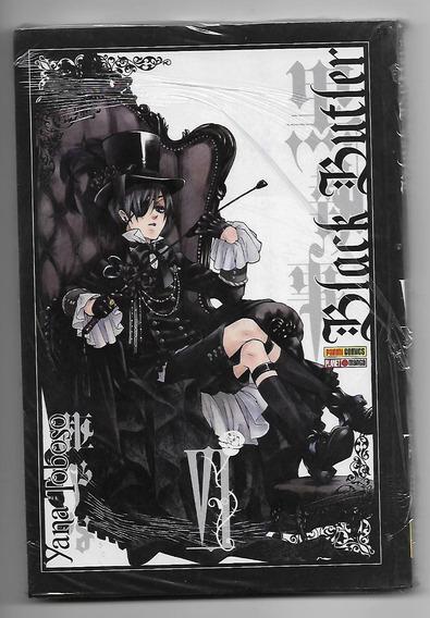 Mangá Black Butler 6 Lacrado - Editora Panini