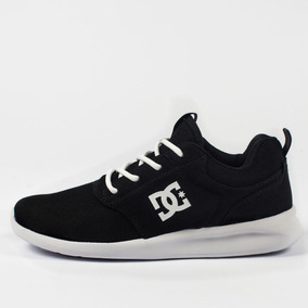 Tênis Dc Shoes Runner Midway Black White Original