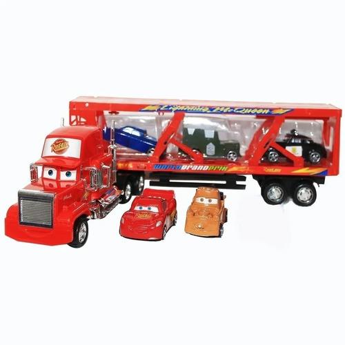 Cars De Disney  Camion Mula Niñera Mack  Friccion Cm  Ajd