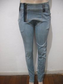 Calça Jeans Tipo Saruel Planet Girls Tam 36 Usado Bom Estado