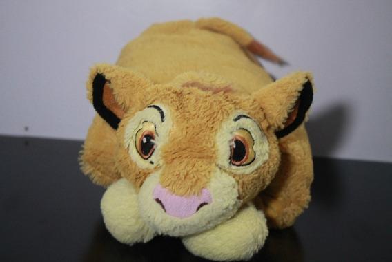 Simba, Rei Leão Travesseiro E Bicho De Pelucia Original