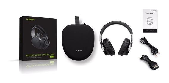 Fone Bluetooth Ausdom Anc8 Canc. Ruido Ativo Jbl Beats Sony