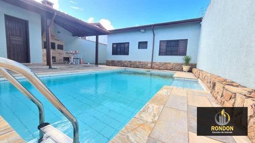 Casa Com 2 Dormitórios À Venda, 126 M² Por R$ 425.000 - Recanto Dos Bandeirantes - Itanhaém/sp - Ca1422