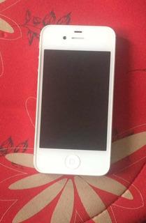 iPhone 4s Blanco 16 Gb Cargador Envío Gratis