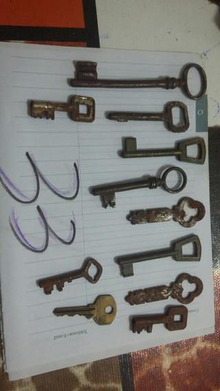 Goya Llaves De Puertas Antiguas Lote Varios 11 Llaves Por Lo