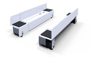 Carrito Extensible Nakan Sh-800 P/heladera-lavarropa-freez