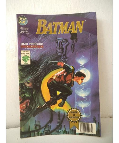 Batman Hijo Prodigo Tomo 2 Editorial Vid