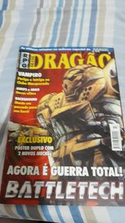 Revista Dragão Rpg Game Battletech Agora É Guerra Total