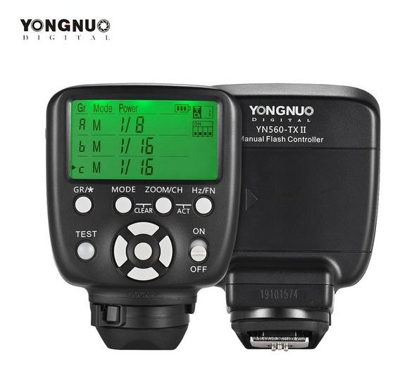 Yongnuo Yn560-tx Ii Gatilho Manual Flash Para Nikon Dslr Cam