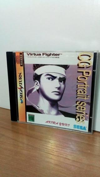 Virtua Fighter Cg Portrait Series Vol 3 Japonês Usado