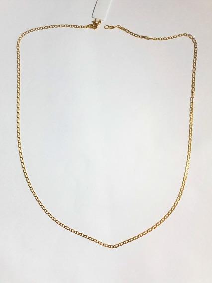 Cordão De Ouro 18k Piastrine 3.2 Gramas