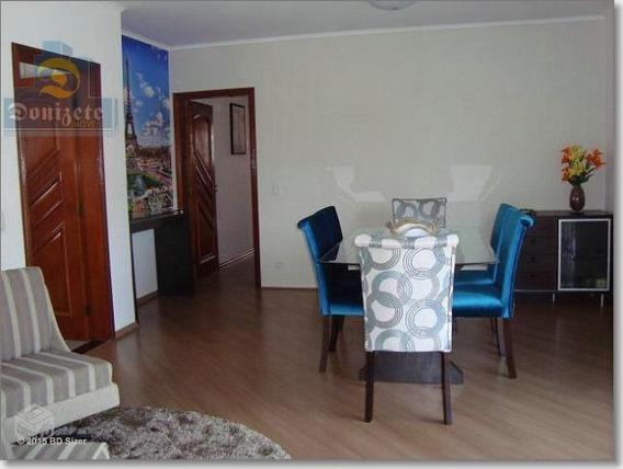 Apartamento À Venda, 110 M² Por R$ 464.000,00 - Vila Bastos - Santo André/sp - Ap4593