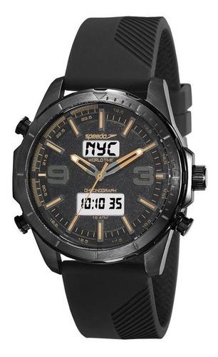 Imagem 1 de 1 de Relógio Speedo Masculino Ref: 15022gpevpi1 Anadigi Black