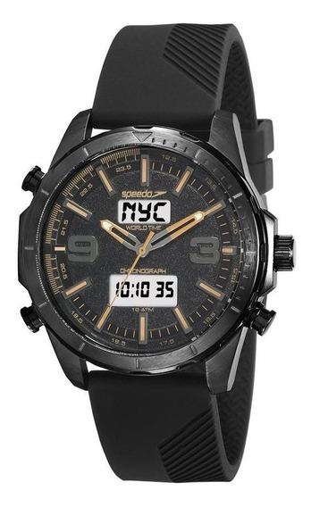 Relógio Speedo Masculino Ref: 15022gpevpi1 Anadigi Black