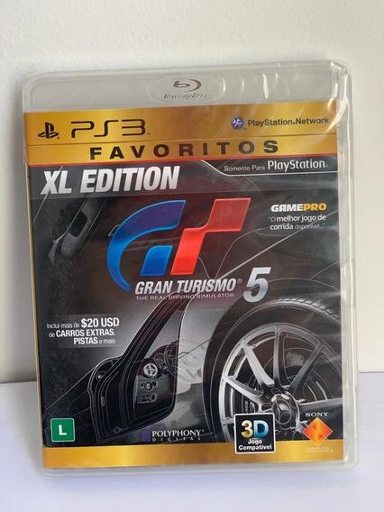 Gran Turismo 5- Ps3- Novo- Lacrado-