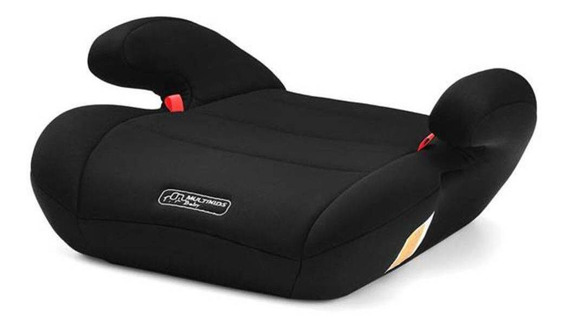 Assento Infantil Elevação Automotivo 22- 36 Kg (preto) Multikids Baby Segurança Para O Seu Filho