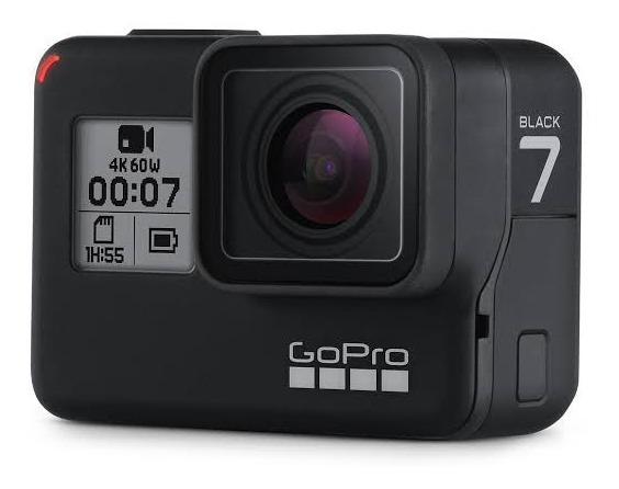 Câmera Gopro Hero 7 Black 12mp 4k + Cartão 64gb Semi-nova