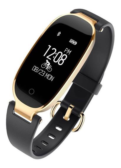 Reloj Smart Watch Pulsera Inteligente Dama Ritmo Cardiaco