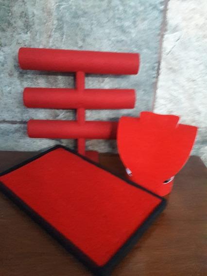 Set Exhibidor Rojo