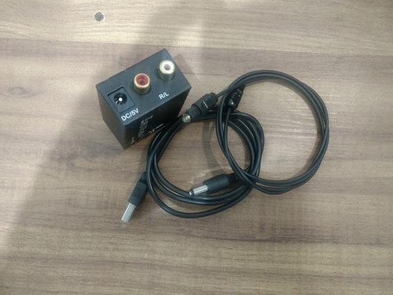 Conversor Optico Digital Para Rca Analogico