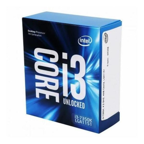 Processador I3 7350k