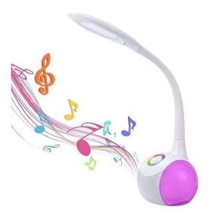 Lampara Velador Parlantes Bluetooth Noga Ng-lamp2 Led Rgb