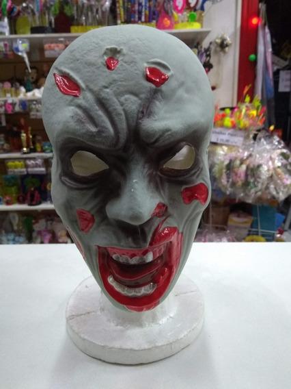Mascara Zombie Plastica Halloween Cotillon