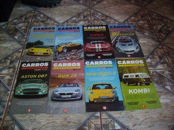 Kit Com 71 Revistas Poster Motor Inesquecíveis.