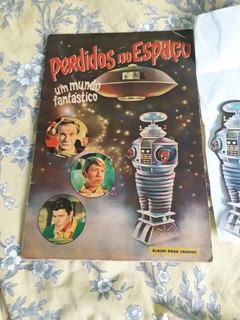 Álbum De Figurinhas Perdidos No Espaço, Com Robolino. 1968.