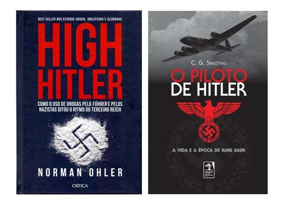 Duas Histórias Da Segunda Guerra Mundial Hitler Frete Grátis