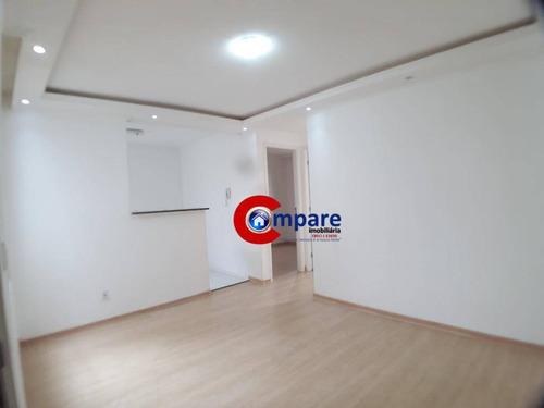Apartamento Com 2 Dormitórios À Venda, 44 M² - Jardim Cumbica - Guarulhos/sp - Ap3236