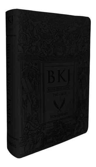 Bíblia Textos Fiel 1611 King James Lançamento Bkj Capa Pu