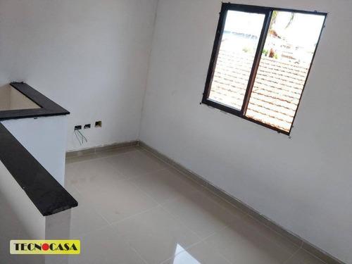 Imagem 1 de 15 de Excelente Casa Com 02 Dormitórios Para Venda Com 46 M² No Bairro Balneário Maracanã Em  Praia Grande/sp. - Ca4858