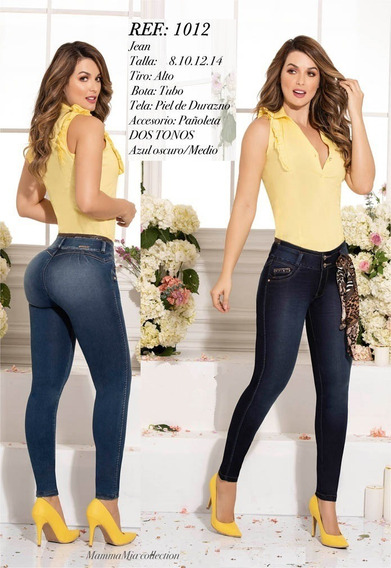 Pantalones B´violet Colombianos, Realza Tu Silueta Push Up