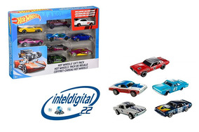 Set De Carritos Hot Wheels Gift Pack X 9 Carros Variados