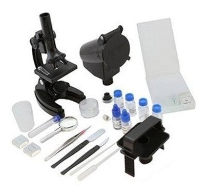 Microscópio C/ Ampliação Até 1200x E Adaptador P/ Câmera