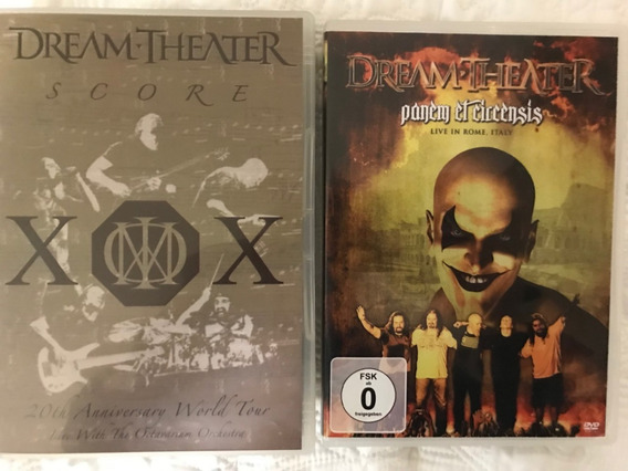 Dream Theater Score 2 Dvds + Dvd Grátis Frete 9,50