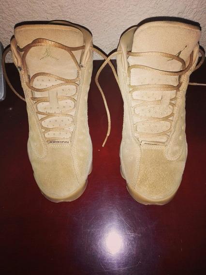 Tenis Jordan 13 Gold Gum 23.5 Cm Retro.colección Gs