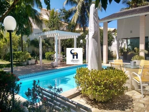 Eleven Imoveis, Linda Casa Com 550 M² Construída A Venda Em Vilas Do Atlântico. - Cs00435 - 33955236