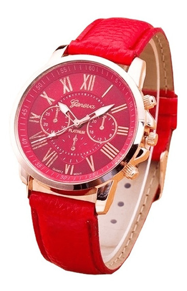 Relógio Feminino Marca Geneva - De R$ 89,90 Por R$ 79,90