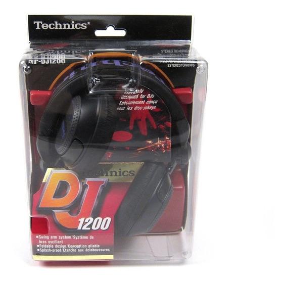 Technics Rpdj1200 Headphones (black / Purple)