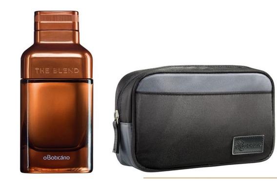 Kit The Blend Eau De Parfum Boticário Com Necessaire