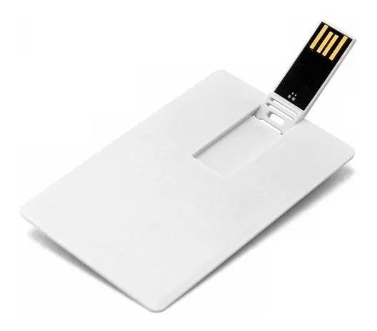 Pen Drive Cartão Liso ( Pen Card ) 8gb, Personalizável