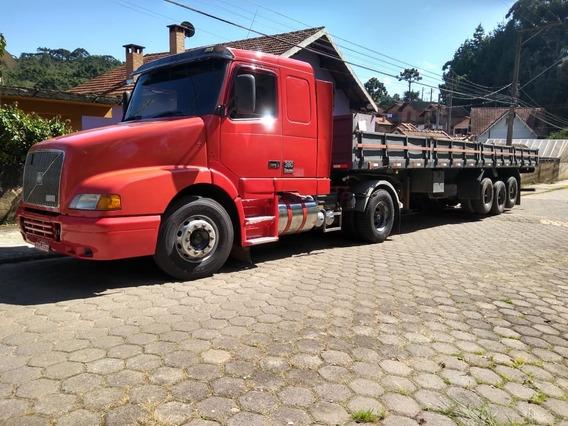 Conjunto Volvo Nh 12 380 Ano 2001 +carreta Facchini Ano 2006