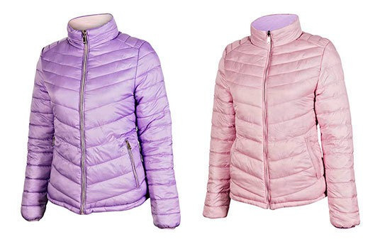 Chamarra That´s Hot Mujer Bh90506n Color Lila Talla Chi-xg