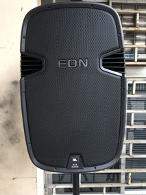 Caixa Jbl Eon 515xt Usada Com Capa E Pedestal De Brinde